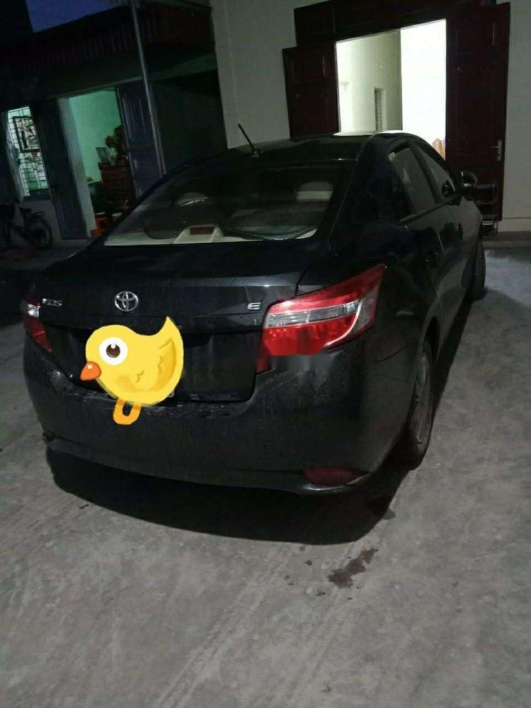 Bán ô tô Toyota Vios E năm 2017, màu đen chính chủ, giá tốt (1)