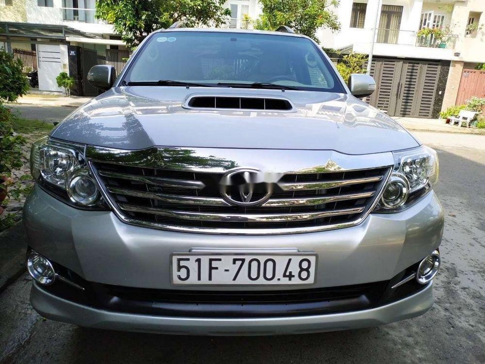 Bán ô tô Toyota Fortuner G sản xuất 2016, màu bạc xe gia đình (1)