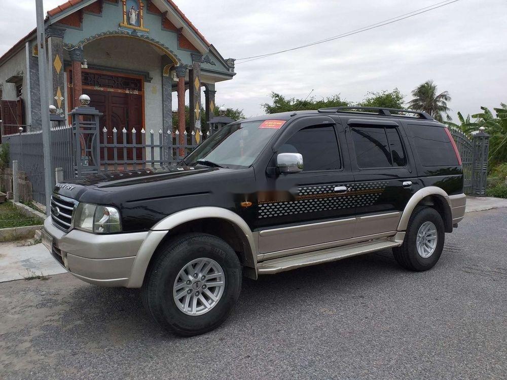 Cần bán lại xe cũ Ford Everest năm 2005, màu đen, 238 triệu (4)