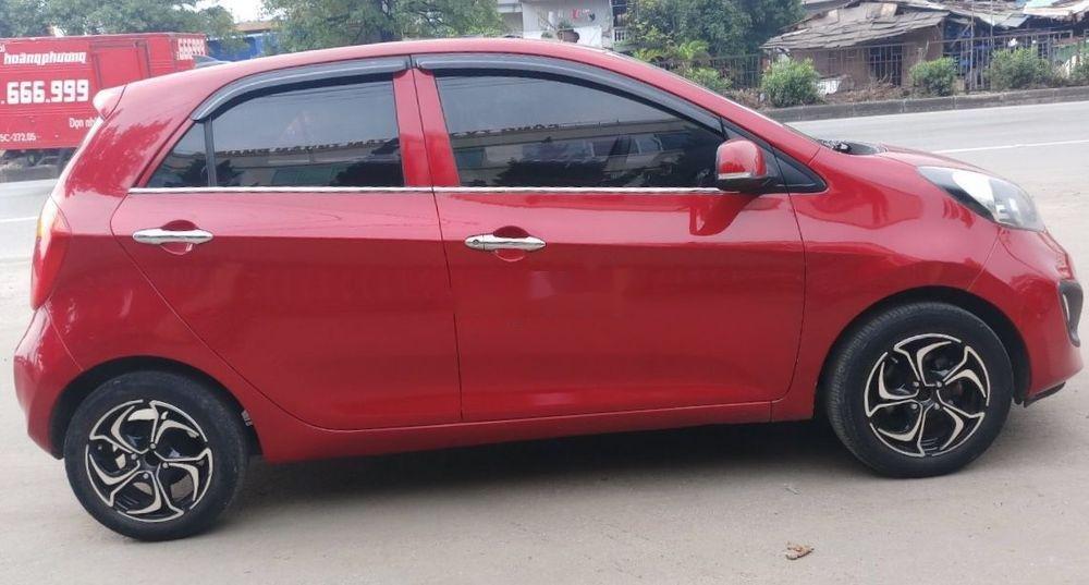 Cần bán gấp Kia Morning sản xuất 2014, màu đỏ như mới, giá tốt, xe nguyên bản (8)