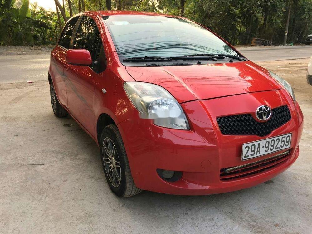 Bán Toyota Yaris 1.0 MT 2007, màu đỏ, nhập khẩu nguyên chiếc (10)