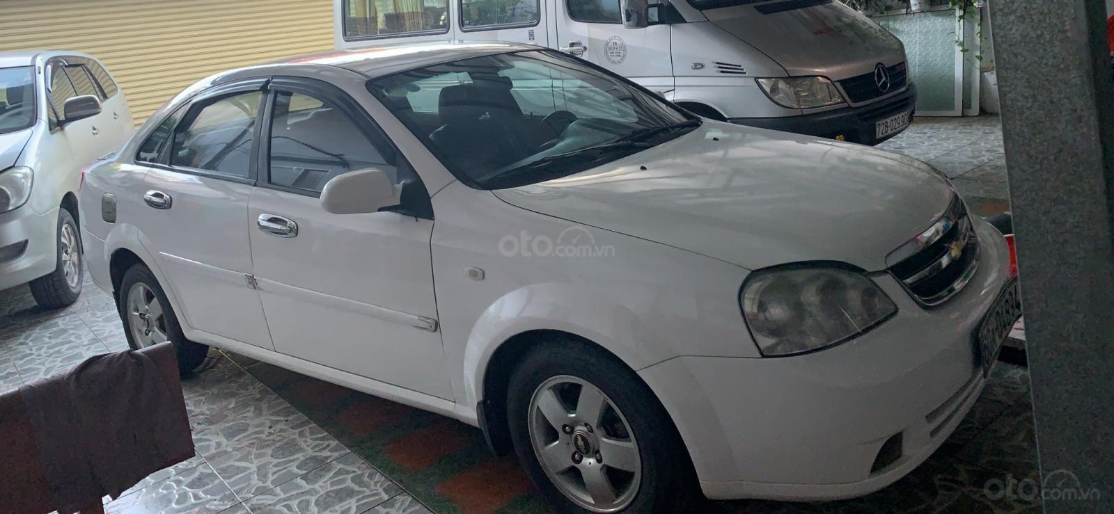 Bán ô tô Chevrolet Lacetti sản xuất năm 2011, màu trắng (1)