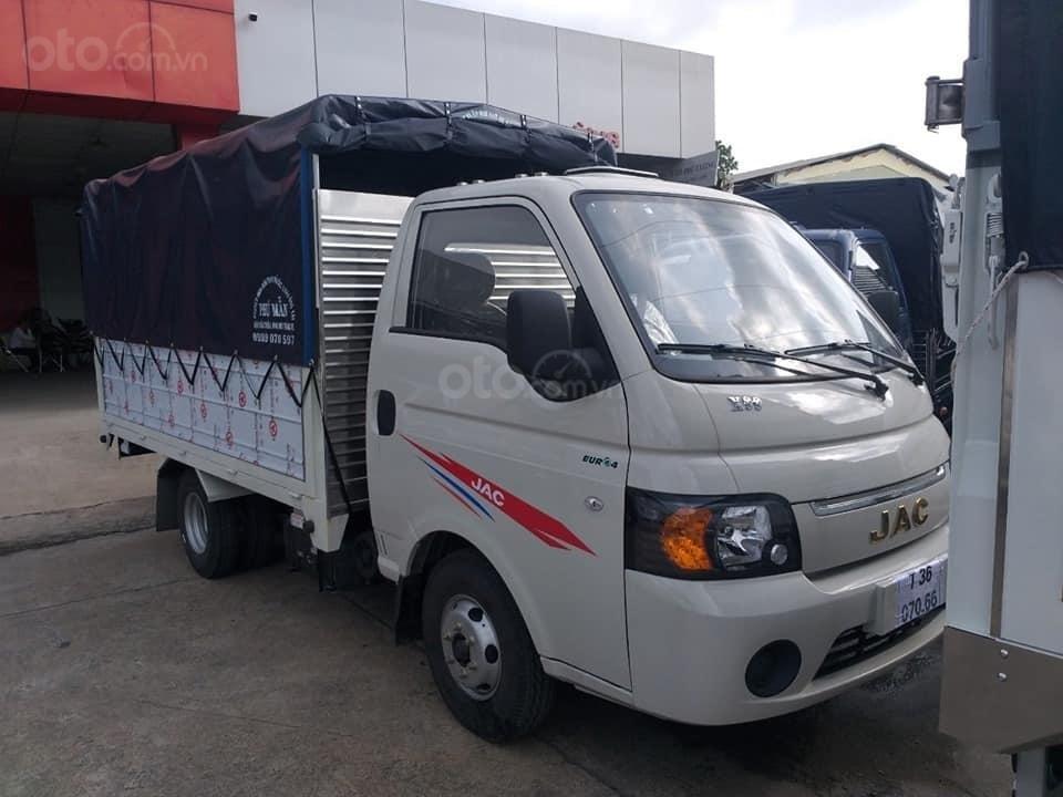 Cần bán JAC X5 990kg đời 2019, màu xanh lam, thùng dài 3m2 (1)