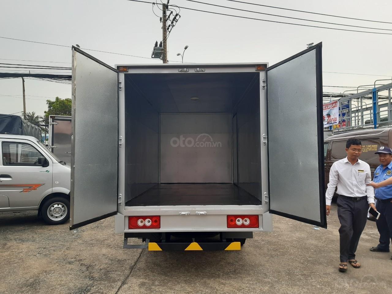 Cần bán JAC X5 990kg đời 2019, màu xanh lam, thùng dài 3m2 (4)