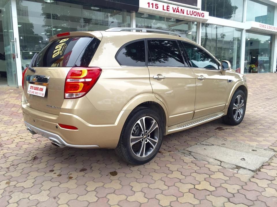 Chevrolet Captiva LTZ sản xuất 2017 mầu vàng cát, odo 26000km (16)
