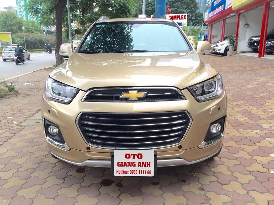 Chevrolet Captiva LTZ sản xuất 2017 mầu vàng cát, odo 26000km (1)