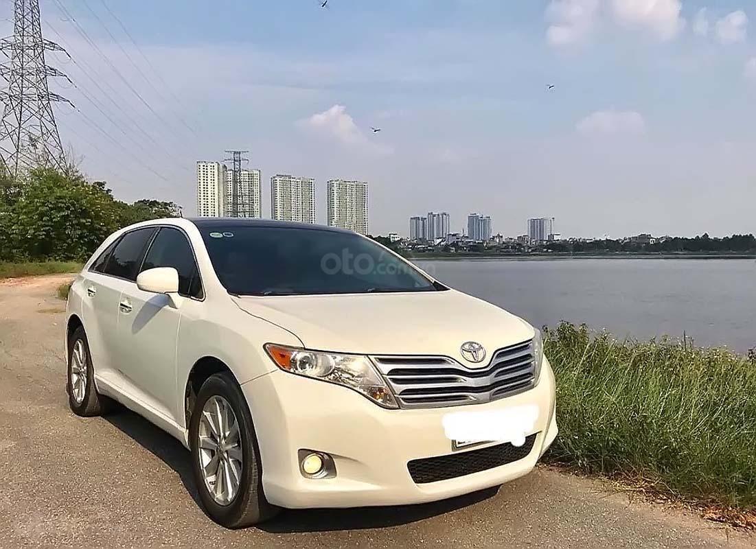 Cần bán Toyota Venza 2.7 đời 2009, màu trắng, nhập khẩu  (1)