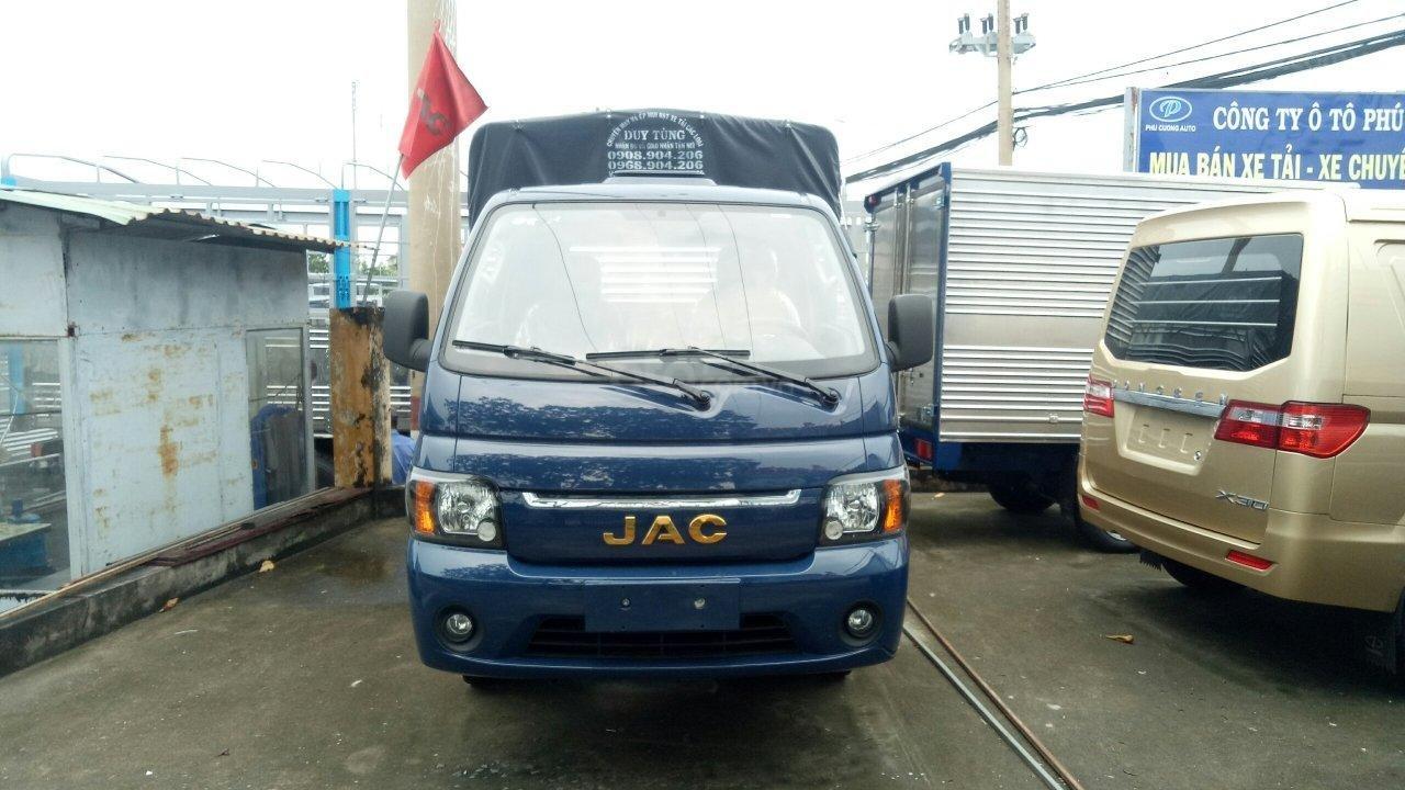 Bán xe tải JAC máy dầu 990kg - hỗ trợ trả góp toàn quốc (5)