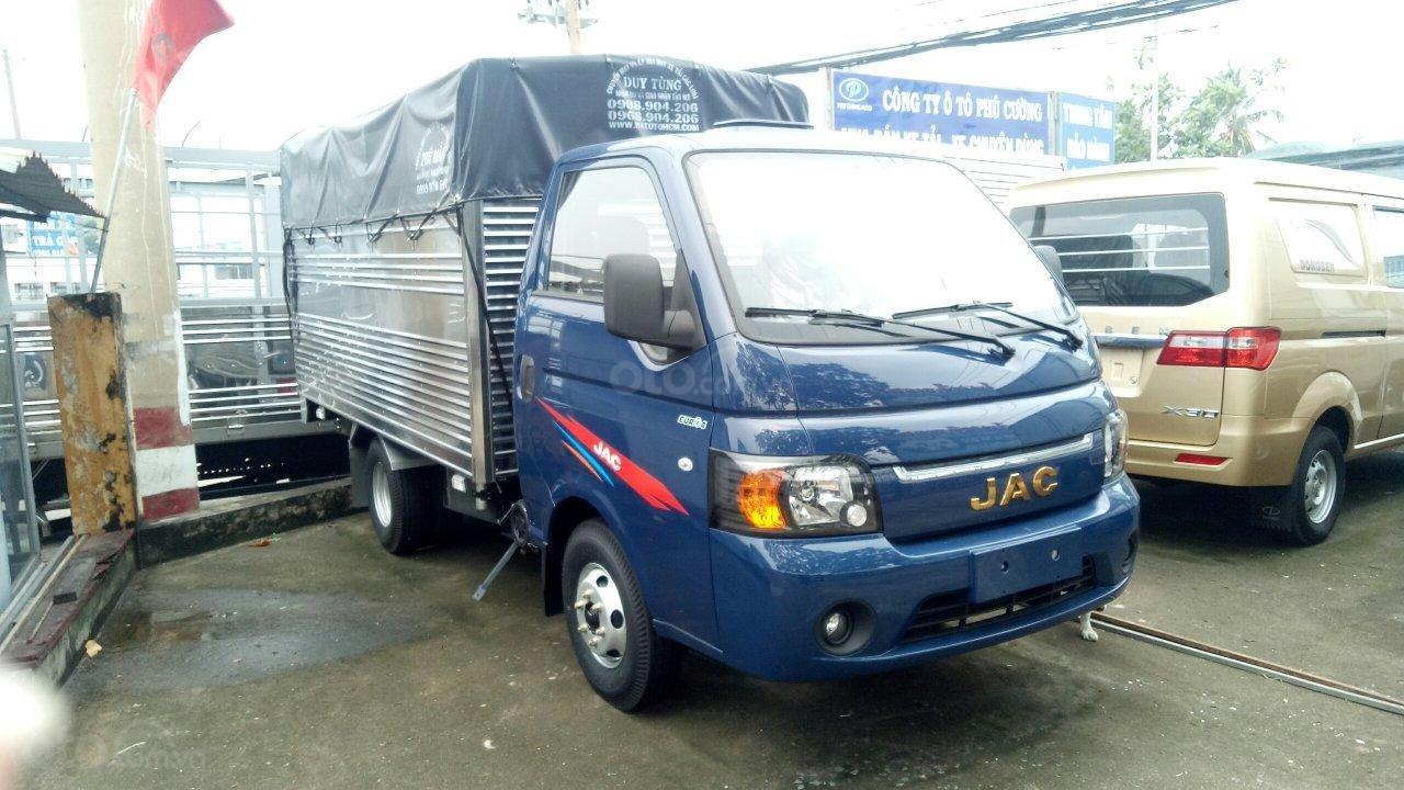 Bán xe tải JAC máy dầu 990kg - hỗ trợ trả góp toàn quốc (1)