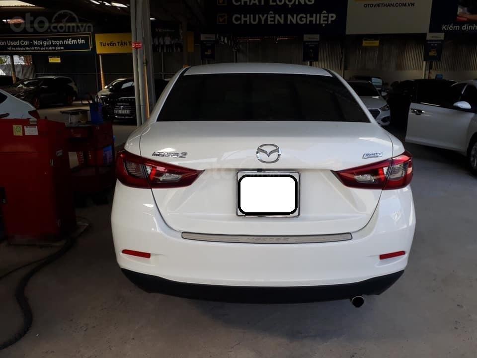 Bán Mazda 2 sản xuất năm 2017, màu trắng, số tự động, xe bao đẹp (3)