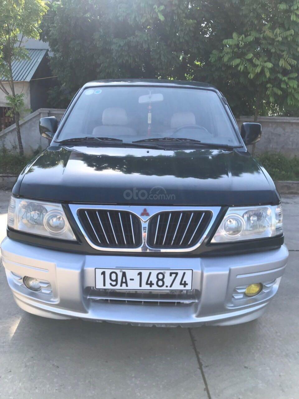 Cần bán gấp Mitsubishi Jolie đăng ký 2003, màu xanh lam, xe nhập, giá chỉ 125 triệu đồng (1)