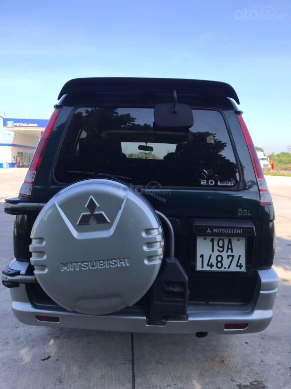 Cần bán gấp Mitsubishi Jolie đăng ký 2003, màu xanh lam, xe nhập, giá chỉ 125 triệu đồng (6)