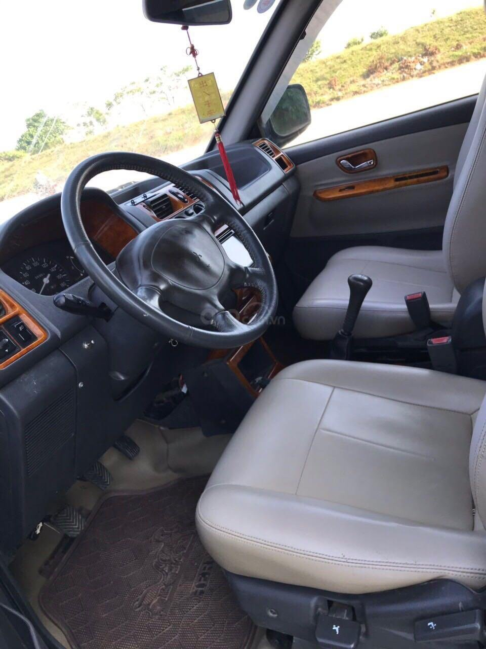 Cần bán gấp Mitsubishi Jolie đăng ký 2003, màu xanh lam, xe nhập, giá chỉ 125 triệu đồng (4)