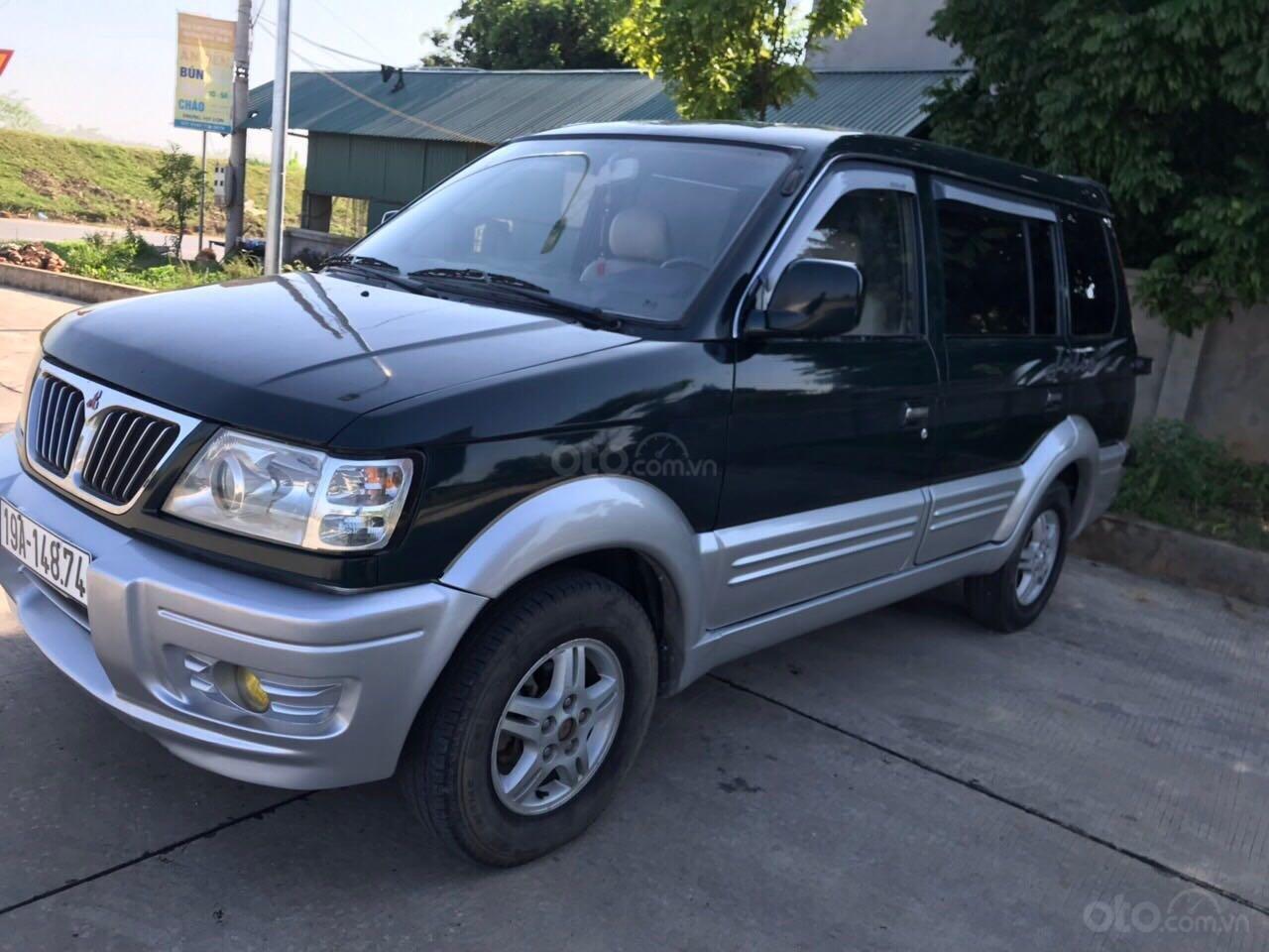 Cần bán gấp Mitsubishi Jolie đăng ký 2003, màu xanh lam, xe nhập, giá chỉ 125 triệu đồng (5)