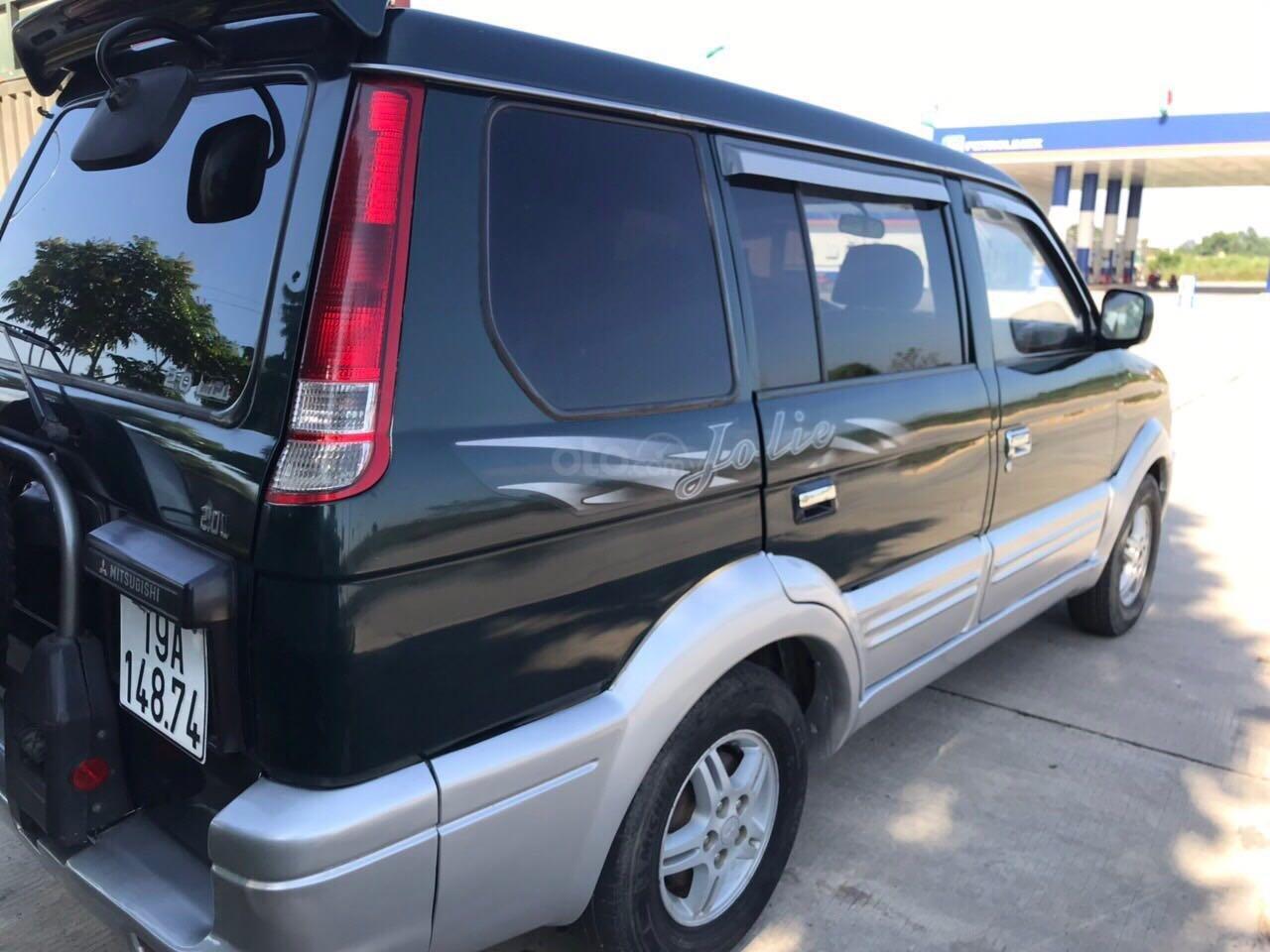 Cần bán gấp Mitsubishi Jolie đăng ký 2003, màu xanh lam, xe nhập, giá chỉ 125 triệu đồng (3)