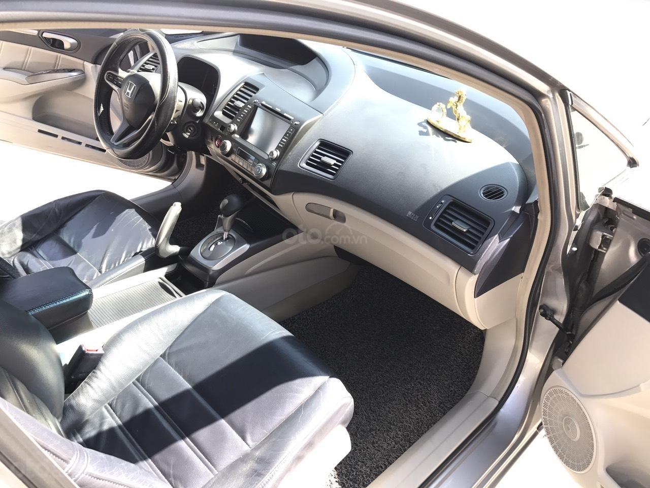 Bán xe Honda Civic 2.0AT 2008, màu xám (ghi), full đồ chơi 30 triệu, công nhận mới (7)