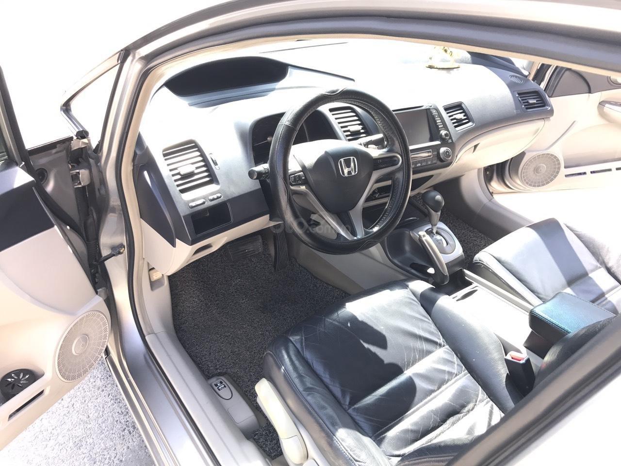 Bán xe Honda Civic 2.0AT 2008, màu xám (ghi), full đồ chơi 30 triệu, công nhận mới (4)