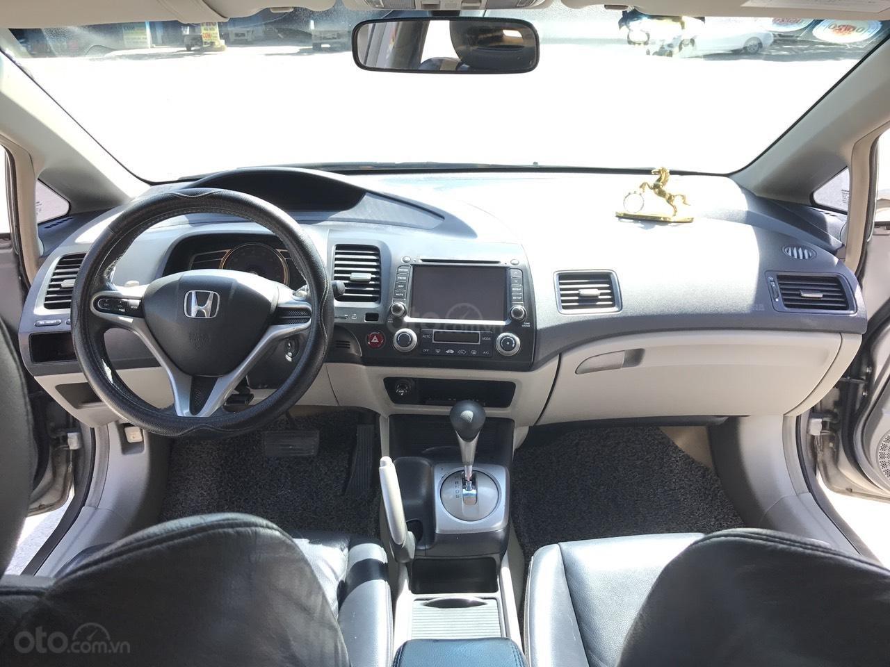 Bán xe Honda Civic 2.0AT 2008, màu xám (ghi), full đồ chơi 30 triệu, công nhận mới (5)