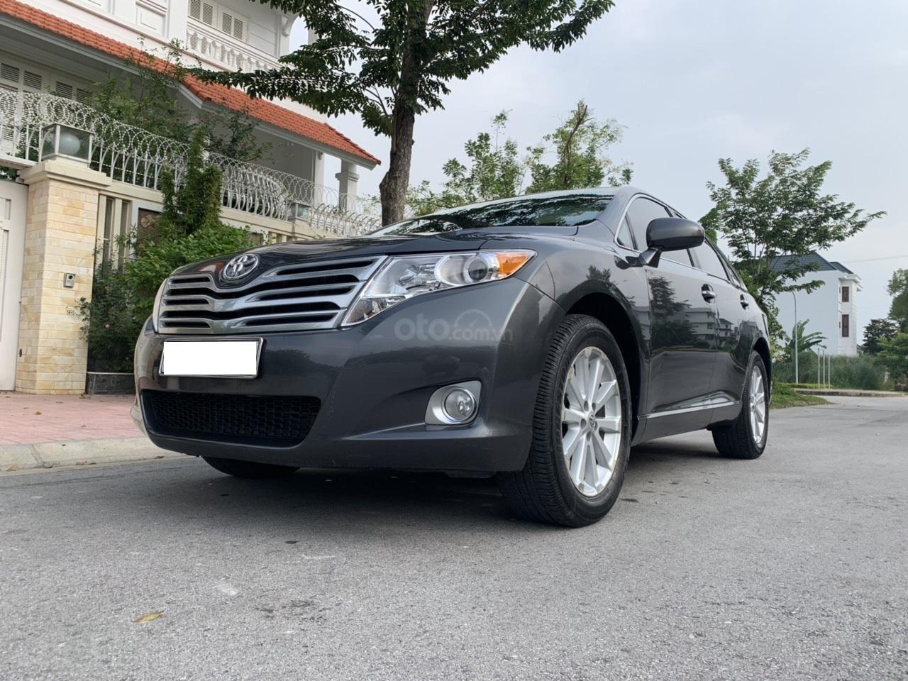 Bán Toyota Venza 2.7 màu xám sản xuất 12/2009, đăng ký biển Hà Nội (2)