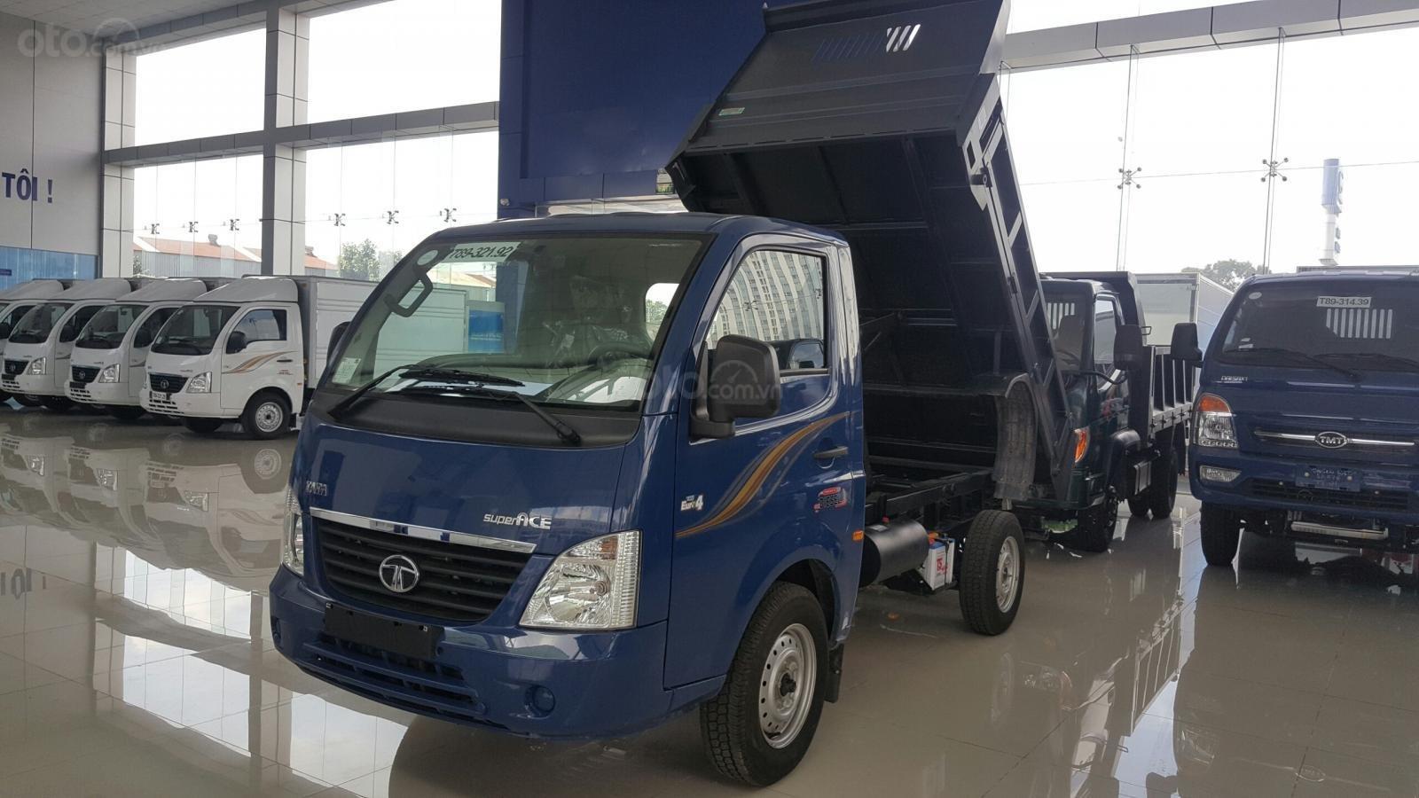Cần bán xe ben Tata 990kg Ấn Độ (1)