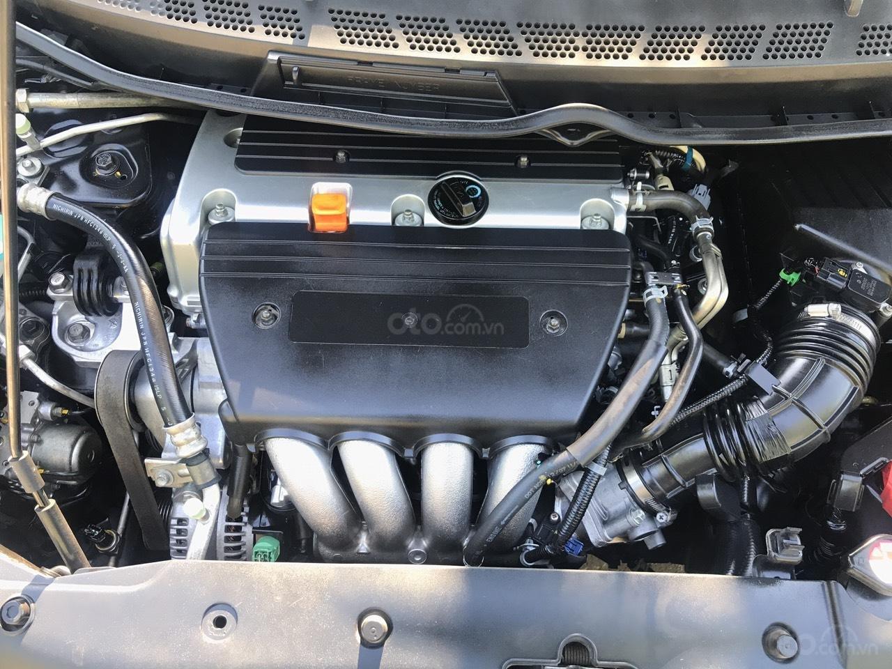 Cần bán Honda Civic 2.0AT sản xuất năm 2008, màu đen, chính chủ, xe tuyển (8)