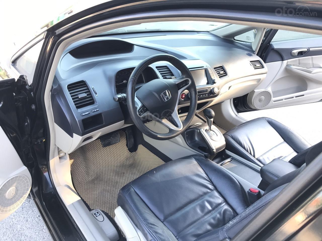 Cần bán Honda Civic 2.0AT sản xuất năm 2008, màu đen, chính chủ, xe tuyển (4)
