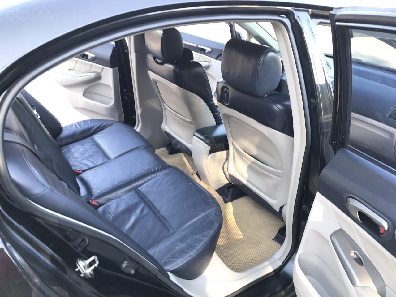 Cần bán Honda Civic 2.0AT sản xuất năm 2008, màu đen, chính chủ, xe tuyển (20)