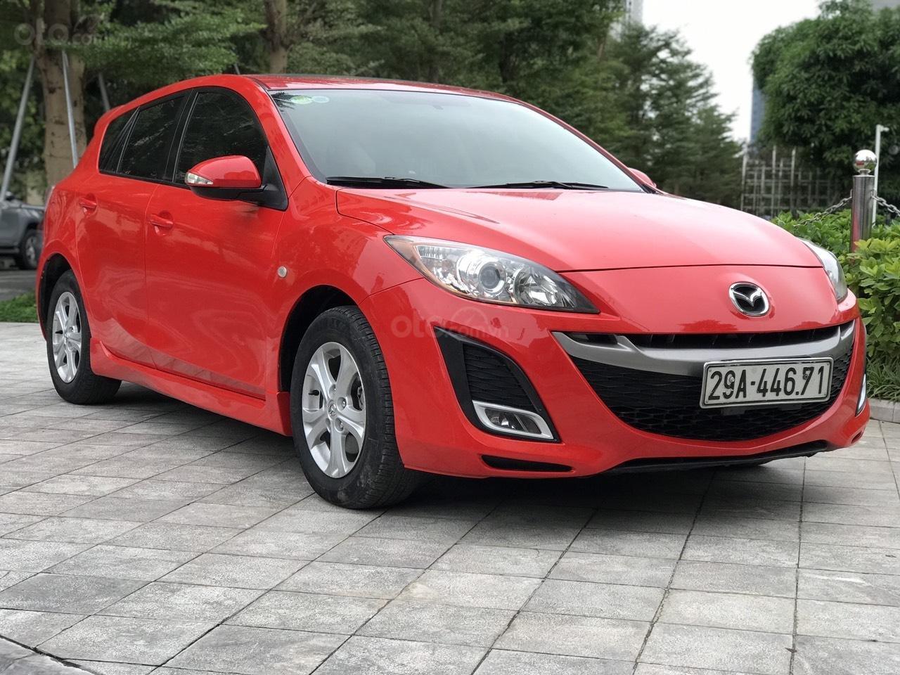 Bán Mazda 3 Hatchback sx 2010, màu đỏ, nhập khẩu (3)