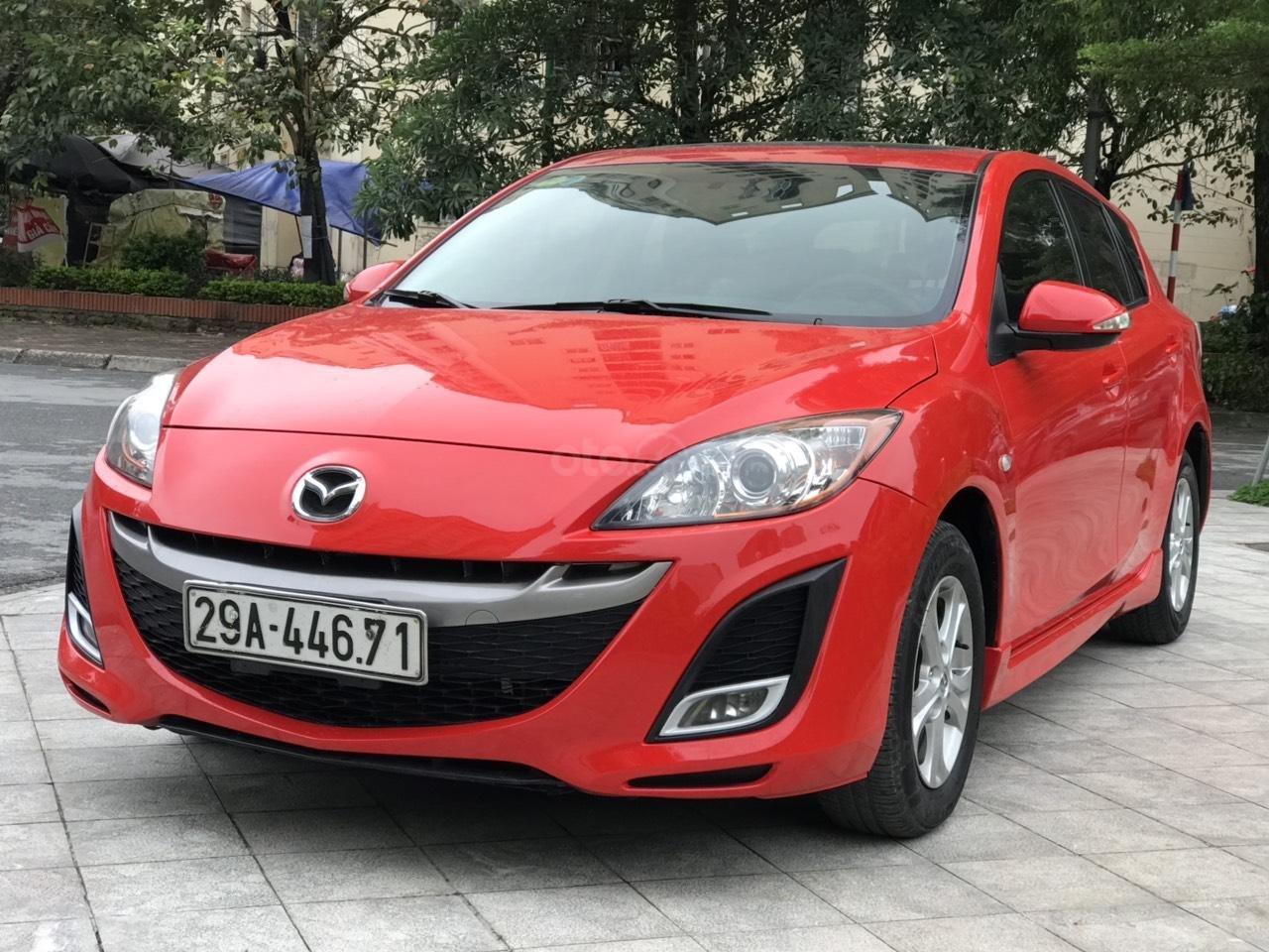 Bán Mazda 3 Hatchback sx 2010, màu đỏ, nhập khẩu (10)