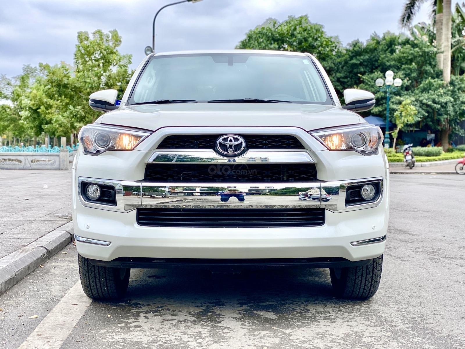 Cần bán Toyota 4 Runner Limited đời 2018, màu trắng, xe nhập (1)