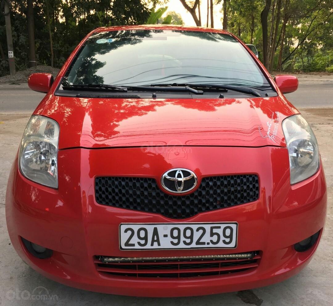 Bán ô tô Toyota Yaris sản xuất 2007, màu đỏ, nhập pháp giá 245 triệu đồng (1)