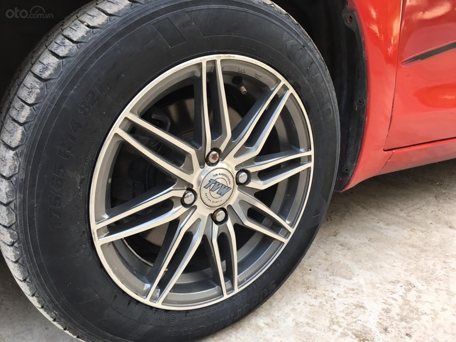 Bán ô tô Toyota Yaris sản xuất 2007, màu đỏ, nhập pháp giá 245 triệu đồng (8)