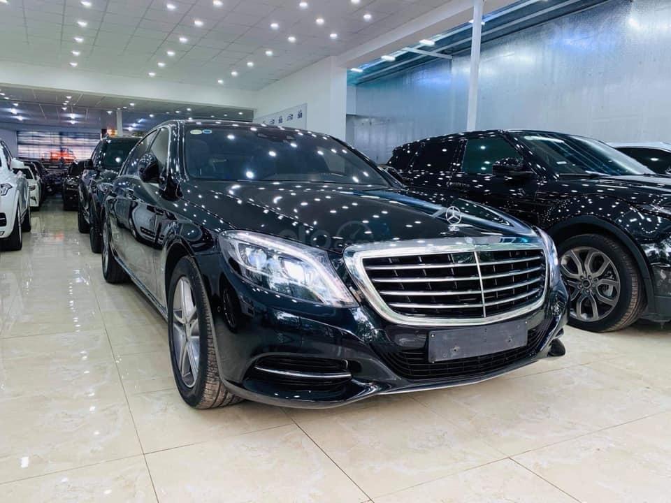 Bán ô tô Mercedes S400 đời 2016, màu đen (6)