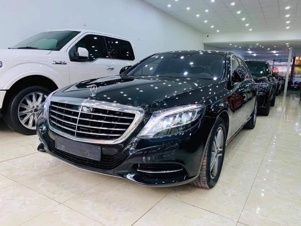 Bán ô tô Mercedes S400 đời 2016, màu đen (9)