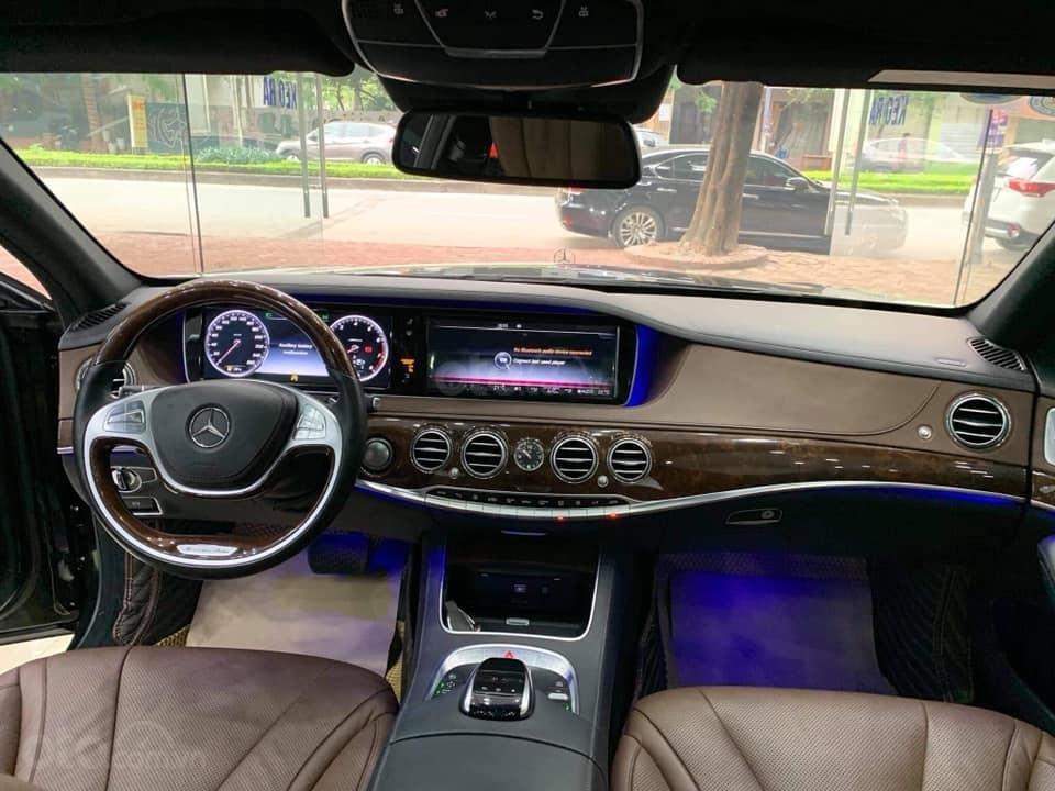 Bán ô tô Mercedes S400 đời 2016, màu đen (4)