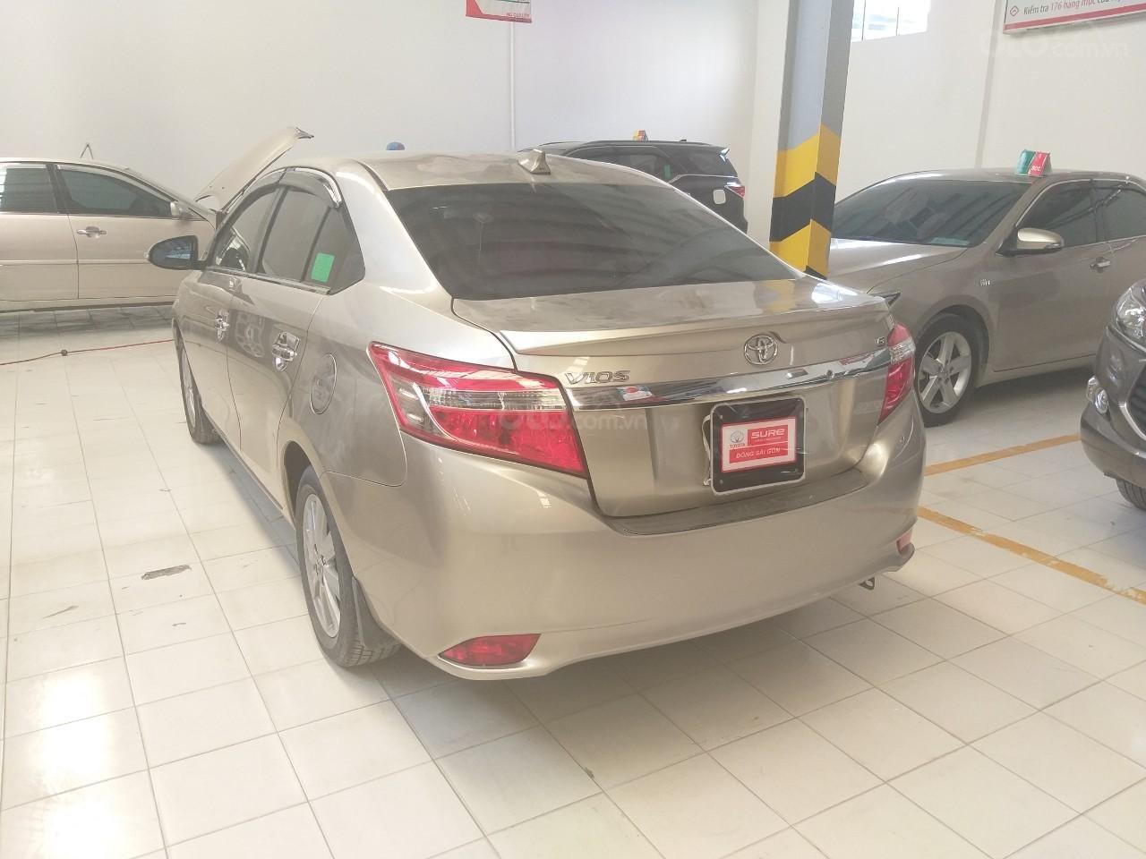 Bán Toyota Vios G đời 2017, màu vàng cát, giá thương lượng (5)