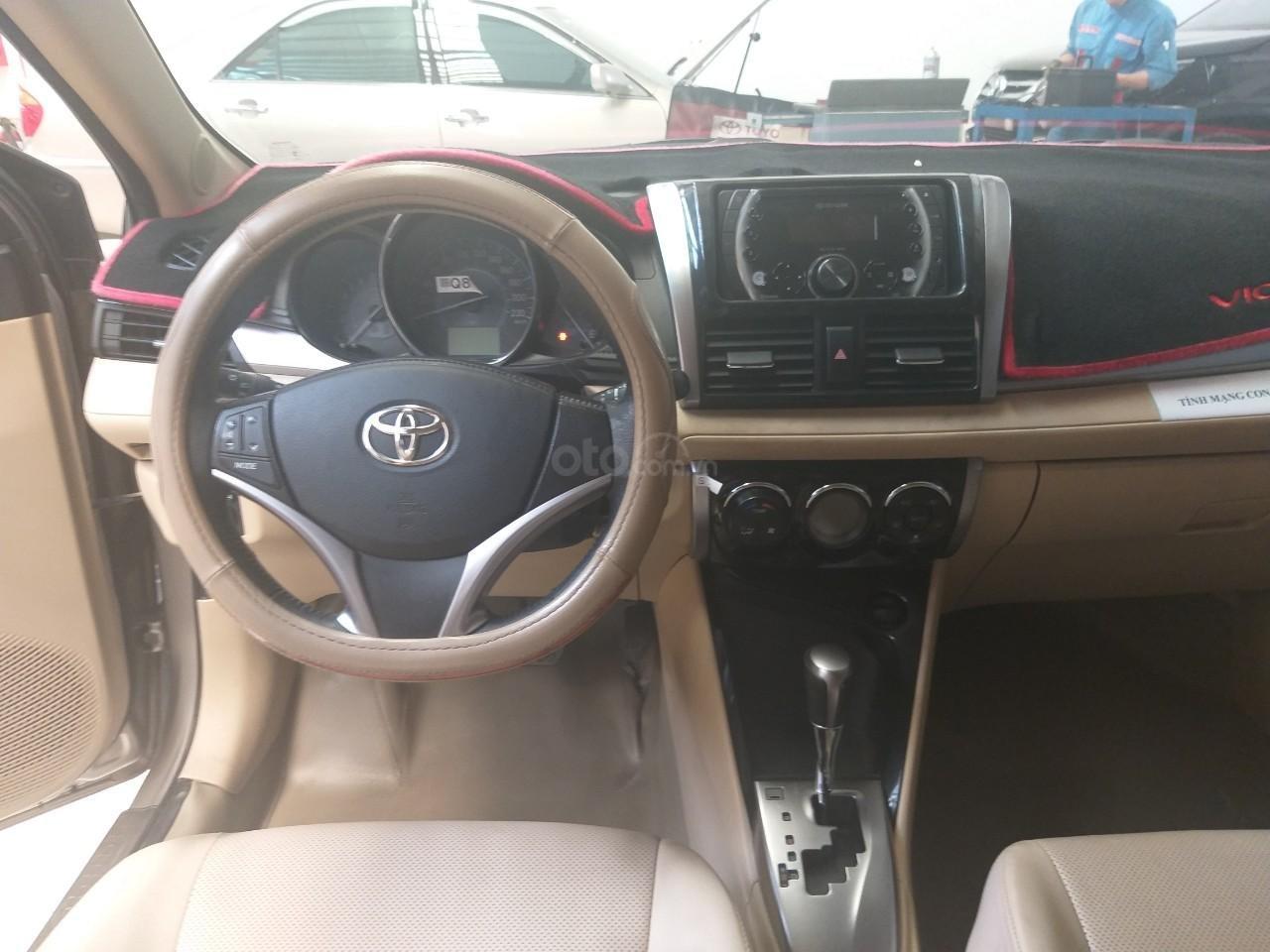 Bán Toyota Vios G đời 2017, màu vàng cát, giá thương lượng (8)
