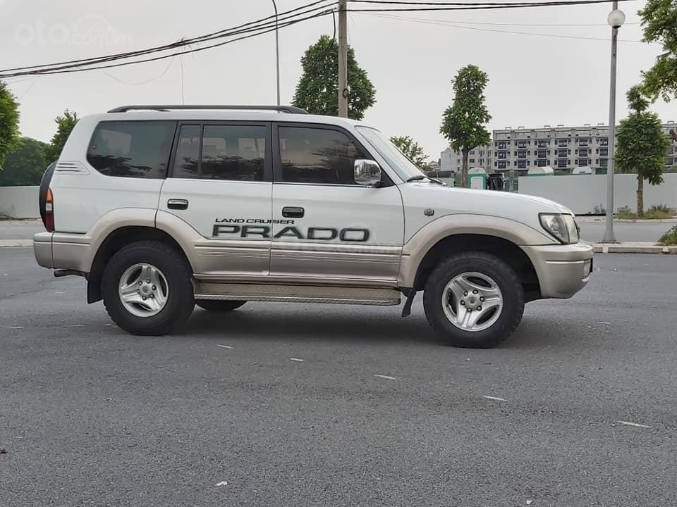 Bán Toyota Prado Diesel (máy dầu) đời 1996, màu trắng, nhập khẩu nguyên chiếc (2)