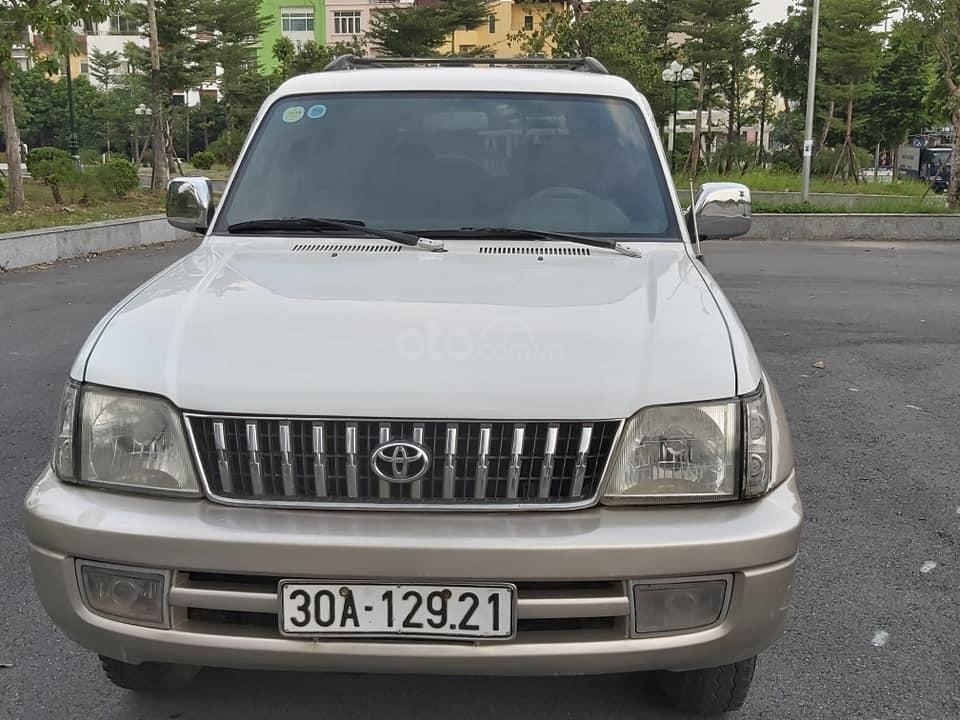 Bán Toyota Prado Diesel (máy dầu) đời 1996, màu trắng, nhập khẩu nguyên chiếc (4)