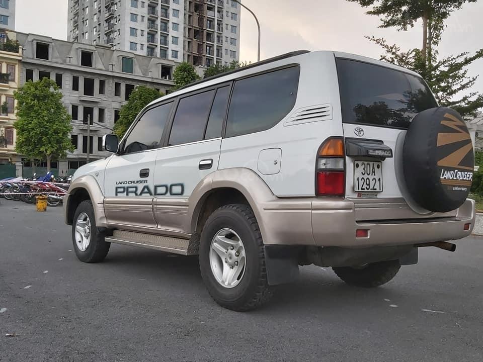 Bán Toyota Prado Diesel (máy dầu) đời 1996, màu trắng, nhập khẩu nguyên chiếc (6)