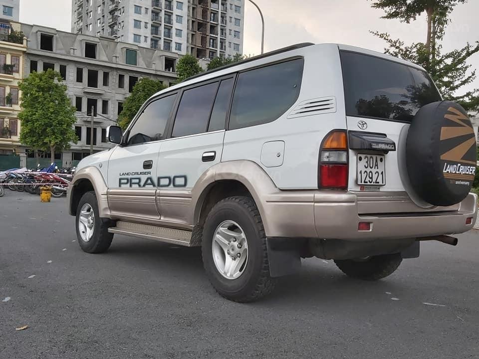 Bán Toyota Prado Diesel (máy dầu) đời 1996, màu trắng, nhập khẩu nguyên chiếc (3)