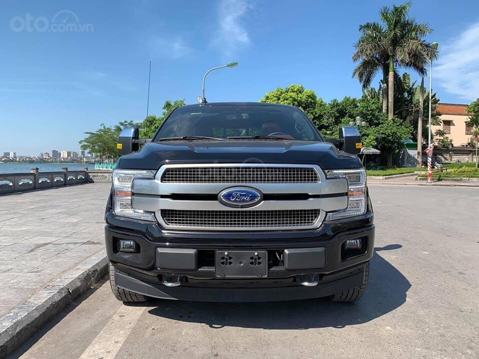 Bán ô tô Ford F 150 Platinum sản xuất năm 2019, màu đen, nhập khẩu (1)