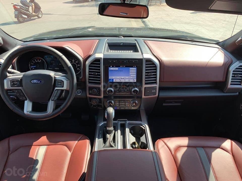 Bán ô tô Ford F 150 Platinum sản xuất năm 2019, màu đen, nhập khẩu (12)
