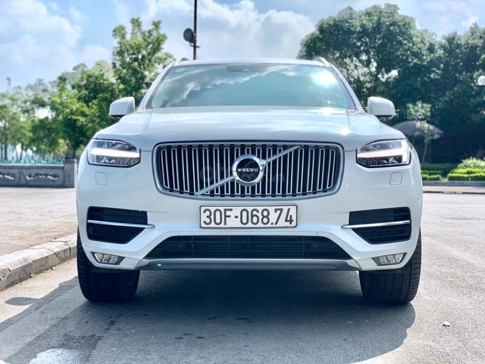 Bán Volvo XC90 T6 Inscription năm sản xuất 2017, màu trắng, nhập khẩu nguyên chiếc (1)