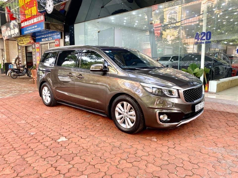 Bán xe Kia Sedona 2.2 DATH năm 2016, màu nâu, nhập khẩu nguyên chiếc, giá cạnh tranh (7)