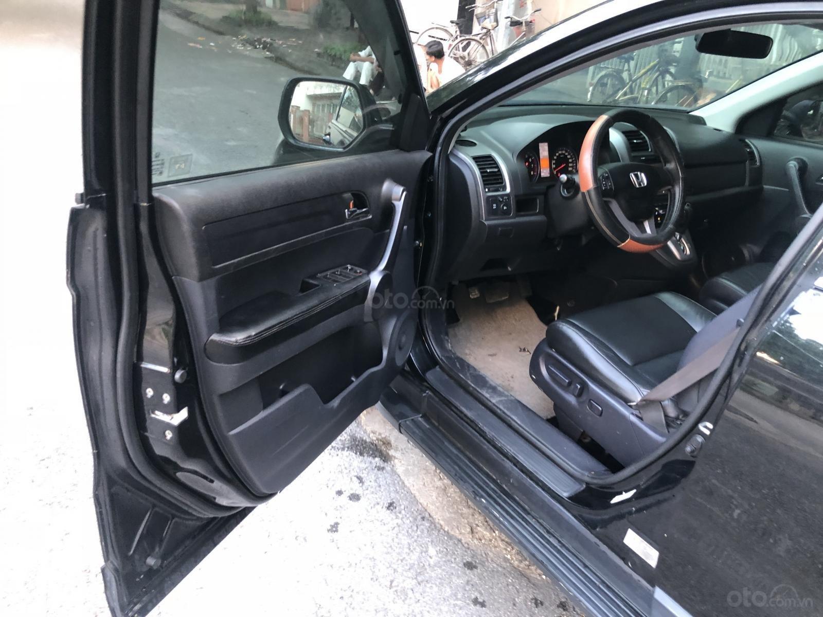 Bán ô tô Honda CR V 2.4 AT đời 2009, màu đen, 455tr (7)