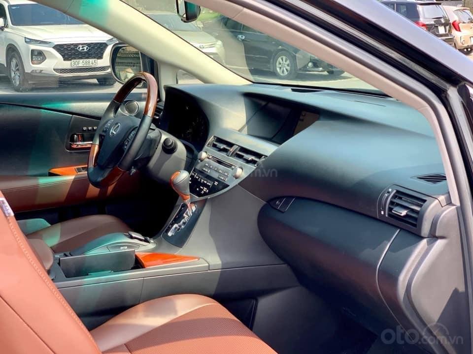 Bán xe Lexus RX 350 2009, màu đen, nhập khẩu nguyên chiếc (4)