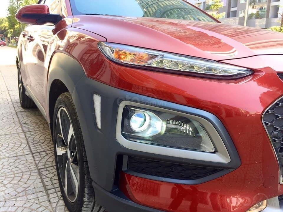 Cần bán xe Hyundai Kona 1.6 Tubor năm sản xuất 2019, màu đỏ (3)