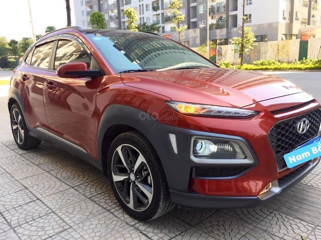 Cần bán xe Hyundai Kona 1.6 Tubor năm sản xuất 2019, màu đỏ (2)