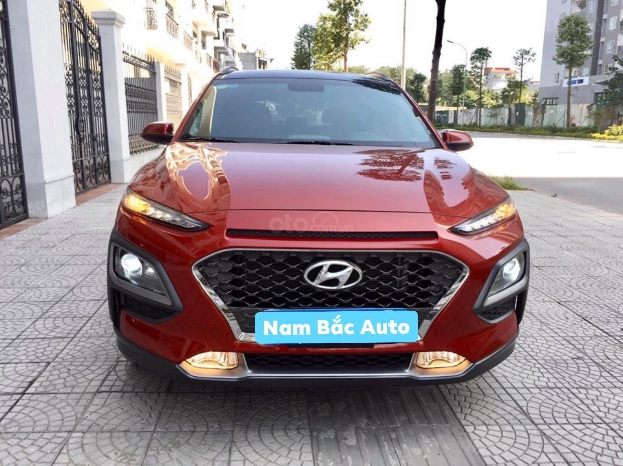 Cần bán xe Hyundai Kona 1.6 Tubor năm sản xuất 2019, màu đỏ (1)